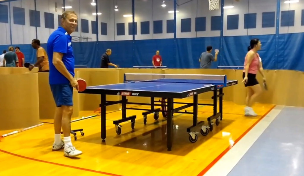 Wanlee Table Tennis Training session