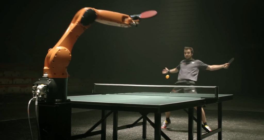 TableTennis-TimoBoll-vs-KUKA-robot-4