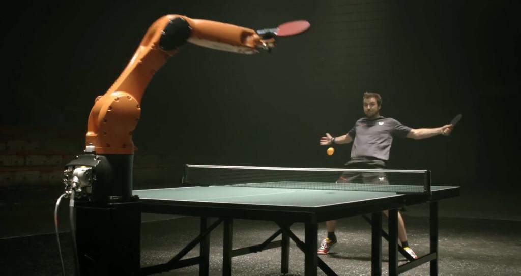 TableTennis-TimoBoll-vs-KUKA-robot-4
